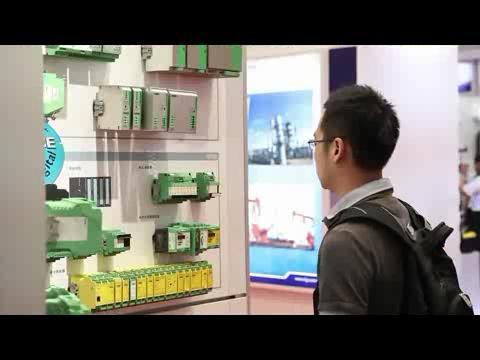 菲尼克斯电气亮相第23届中国国际测量控制与仪器仪表学术会议暨展览会