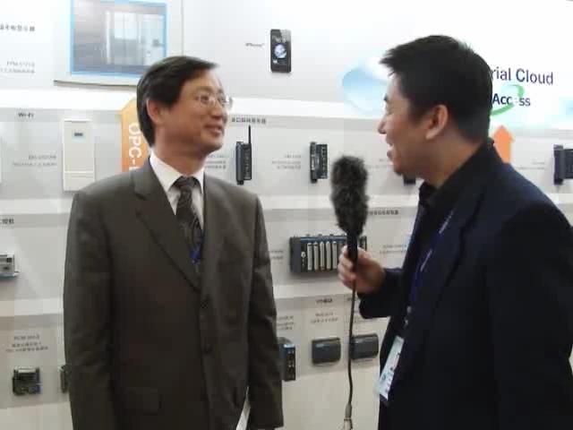 线上工博会-访研华工业自动化事业群总经理 吴明钦
