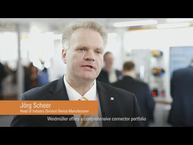 魏德米勒2016汉诺威工业博览会视频集锦-装置联接件