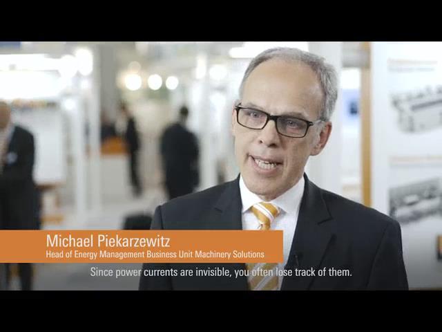 魏德米勒2016汉诺威工业博览会视频集锦-能源管理